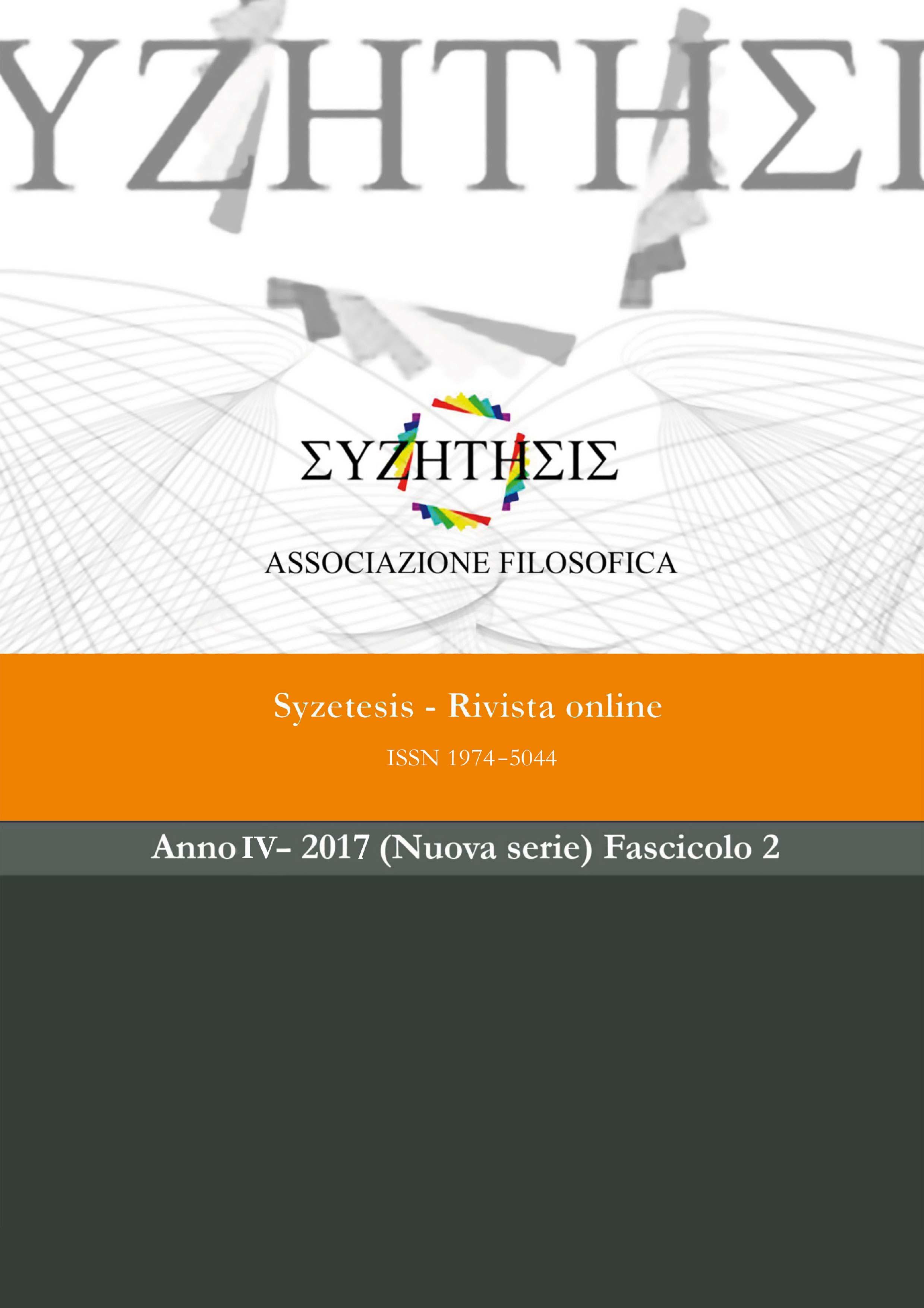 Syzetesis - Rivista online
