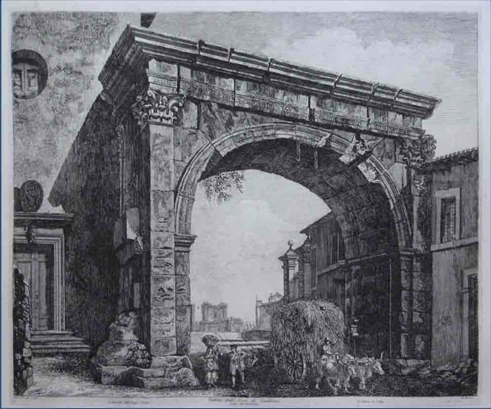 Dall'Arco di Galieno all'Arco di Costantino